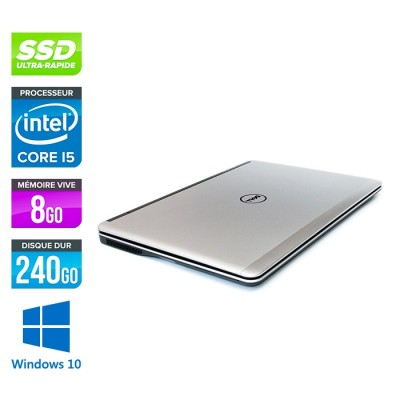 Dell E7240 - Core i5 - 8 Go - 240Go SSD - Windows 10 -