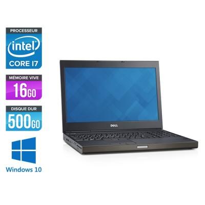 Dell Precision M4800 - i7 - 16Go - 500Go HDD - NVIDIA Quadro K2100M - Windows 10