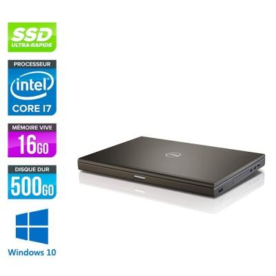 Dell Precision M4800 - i7 - 16Go - 500Go SSD - NVIDIA Quadro K2100M - Windows 10