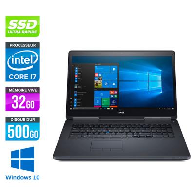 Dell Precision 7710 - i7 - 16Go - SSD - NVIDIA Quadro M3000M - Windows 10