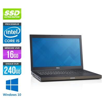 Dell Precision M6800 - i5 - 16Go -240 SSD - AMD FirePro M6100 - Windows 10