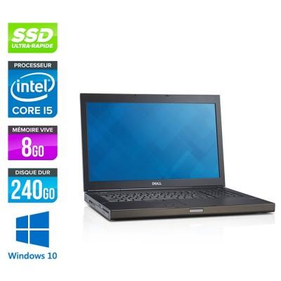 Dell Precision M6800 - i5 - 8Go -240 SSD - AMD FirePro M6100 - Windows 10