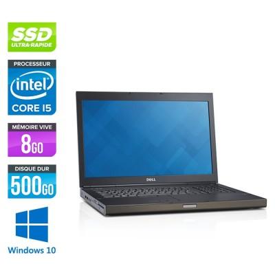 Dell Precision M6800 - i5 - 8Go -500 SSD - AMD FirePro M6100 - Windows 10