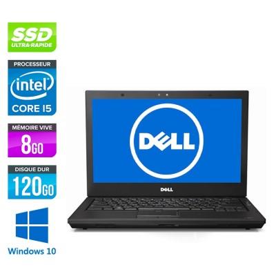 Dell Latitude E4310 - i5 520M - 8Go - 120Go SSD - Windows 10
