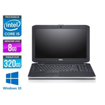 Dell E5530 - i5 3320M -  8Go - 320Go HDD - 15.6'' Full-HD - Windows 10