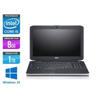 Pc portable reconditionné - Dell E5530 - i5 3320M -  8Go - 1 To HDD - 15.6'' - Windows 10