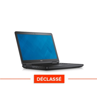 Pc portable reconditionné - Dell Latitude E5550 - i5 5300U - 4Go - 500Go HDD - HD - Windows 10 Famille - déclassé