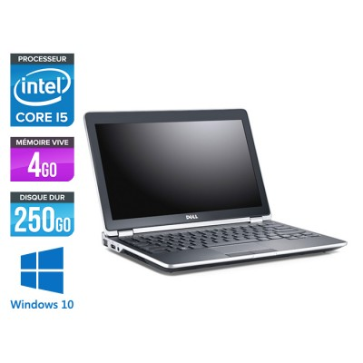 Dell Latitude E6220 - Core i5 - 4Go - 250Go - Windows 10