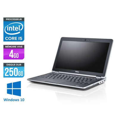 Dell Latitude E6230 - Core i5 - 4 Go - 250 Go HDD - Webcam - Windows 10