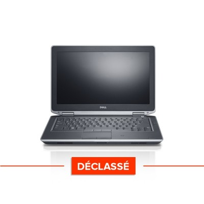 "Pc portable - Dell Latitude E6330 - Trade Discount - Déclassé - Core i5-3340M - 8Go - 320 Go HDD - 13,3"" - sans webcam - windows 10"