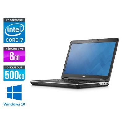 E6540 - 15.6 FHD - i7 4800MQ - 8Go - 500Go HDD - AMD Radeon HD 8790M - Windows 10 Pro