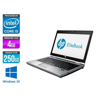 HP EliteBook 2570P - i5 - 4Go - 250Go - Windows 10