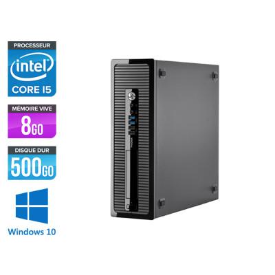 HP EliteDesk 600 G1 Tour - i5 - 8Go - 500Go HDD - Windows 10