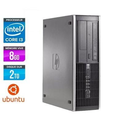 HP 6200 PRO SFF - Core i3 - 8Go - 250Go - Linux