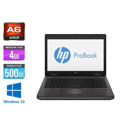 Ordinateur portable - HP ProBook 6470B - i5 - 4Go - 500 Go HDD - Windows 10