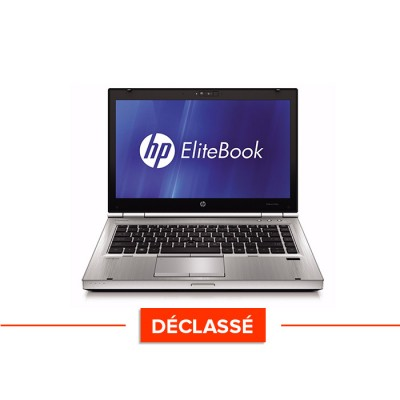 Pc portable - HP EliteBook 8460P - Trade Discount - déclassé - i5 - 8 go - 120 Go SSD - Webcam - Windows 10