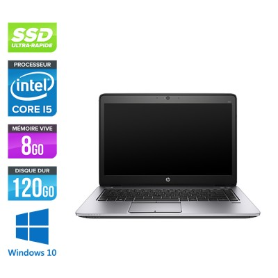 HP Elitebook 840 G2 - i5 - 8Go - SSD 120Go - 14'' - Windows 10
