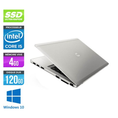 HP Folio 9480M - i5 -4Go -120Go SSD -14'' - Win 10 -