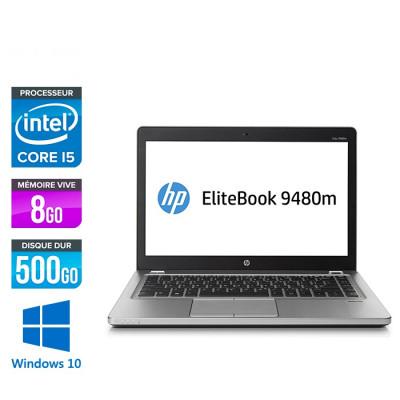 HP Folio 9480M - i5 - 8Go - 500Go HDD -14'' - Win 10