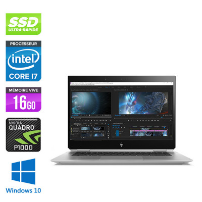 HP ZBook Studio x360 G5 16Go 512Go