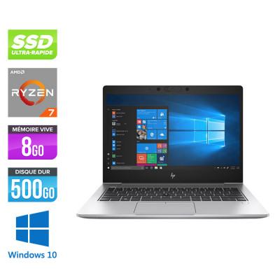 735 G6 - AMD Ryzen 7 - 8Go - 512Go SSD - Windows 10