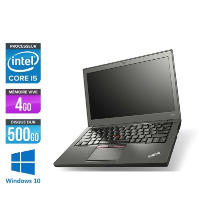 Lenovo ThinkPad X250 - i5 5300U - 4 Go - 500 Go HDD - Windows 10