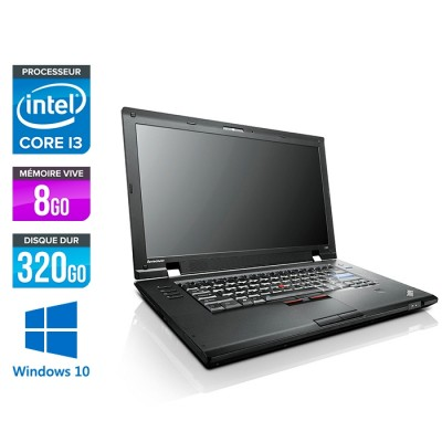 Lenovo ThinkPad L520 - i3 - 8Go - 320 Go HDD - Windows 10
