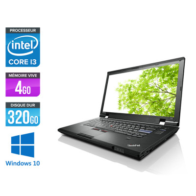 Lenovo ThinkPad L520 - i3 - 4 Go - 320 Go HDD - Windows 10