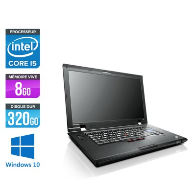Lenovo ThinkPad L520 - Core i5 - 8Go - 320 Go HDD - Windows 10