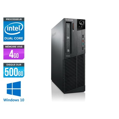 Lenovo M73 SFF - i5 - 4 Go - 500 Go HDD - Windows 10