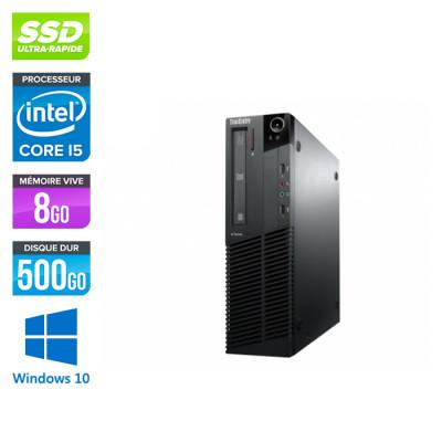 Lenovo M83 SFF - i5 - 8 Go - 500Go SSD - Windows 10