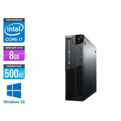 Lenovo M83 SFF - i7 - 8 Go - 500Go HDD - Windows 10