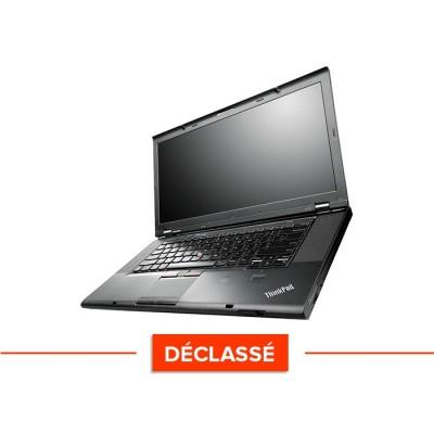 Pc portable - Lenovo ThinkPad T540P - Trade Discount - Déclassé - i5-4300M - 4Go - 500Go HDD - Windows 10