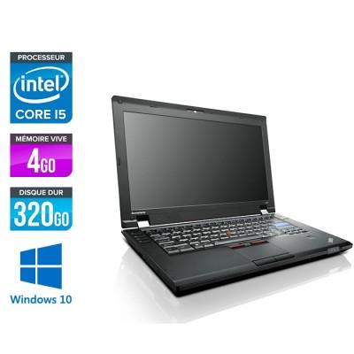 Pc portable Lenovo ThinkPad L420 reconditionné - i5 - 4Go - 320Go HDD - Windows 10