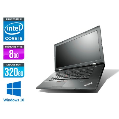 Lenovo ThinkPad L530 - Core i5 - 8Go - 320 Go HDD - Windows 10