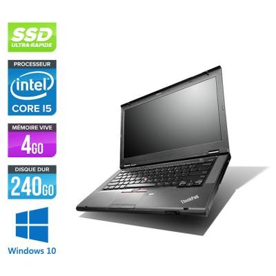 Lenovo ThinkPad T430 - i5 - 4Go - 240Go SSD - Windows 10