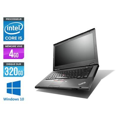 Lenovo ThinkPad T430 - i5 - 4Go - 320Go - Windows 10