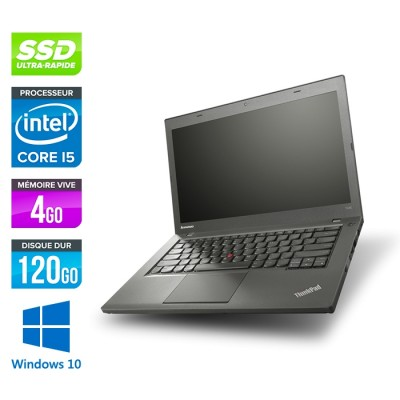 Lenovo ThinkPad T440 - i5 - 4Go - 120Go SSD - Windows 10