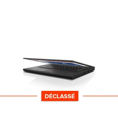 PC portable reconditionné - Lenovo ThinkPad T460 - Trade Discount - Déclassé - i5 6200U - 8Go - HDD 500Go - HD - Windows 10