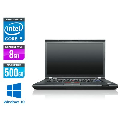 Lenovo ThinkPad W520 - i5 - 8Go - 500Go - HDD - Windows 10