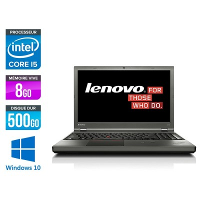 Lenovo ThinkPad W540 -  i5 - 8Go - 500Go HDD - Nvidia K1100M - Windows 10