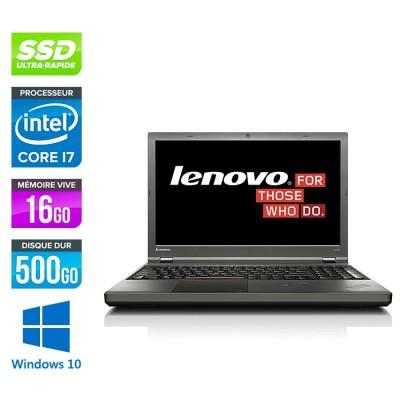 Lenovo ThinkPad W540 -  i7 - 16Go - 500Go SSD - Nvidia K2100M - Windows 10