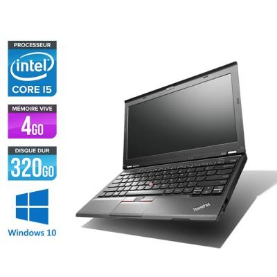 Pc portable - Lenovo ThinkPad X230 - Core i5-3320M - 4Go - 320 Go HDD - Windows 10