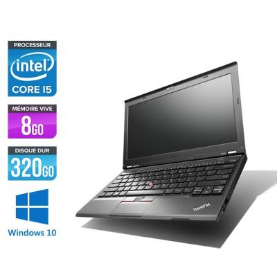 Pc portable - Lenovo ThinkPad X230 - Core i5-3320M - 8 Go - 320 Go HDD - Windows 10