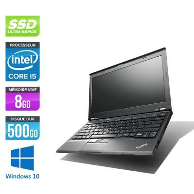 Lenovo ThinkPad X230 - Core i5-3320M - 8 Go - 500 Go SSD - Windows 10