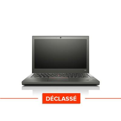 Pc portable - Lenovo ThinkPad X240 - Trade Discount - Déclassé - i5 4300U - 8 Go - 120 Go SSD - Windows 10