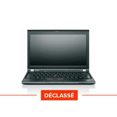 Pc portable reconditionné - Lenovo ThinkPad X230 - Déclassé - i5-3320M - 8Go - 120Go SSD - Windows 10 Famille