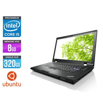 Lenovo ThinkPad L520 - i3 - 8 Go - 320 Go HDD - Ubuntu / Linux