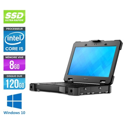 Pc portable reconditionné - Dell Latitude 14 Rugged 5404 P46G - i5 - 8Go - SSD 120 Go - Windows 10