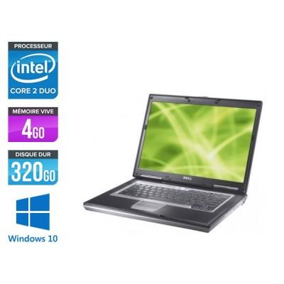 Pc portable reconditionné - Dell Latitude D630 - Core 2 Duo T7100 - 320 Go HDD - Windows 10